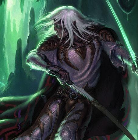 эльф воин чиитать темный